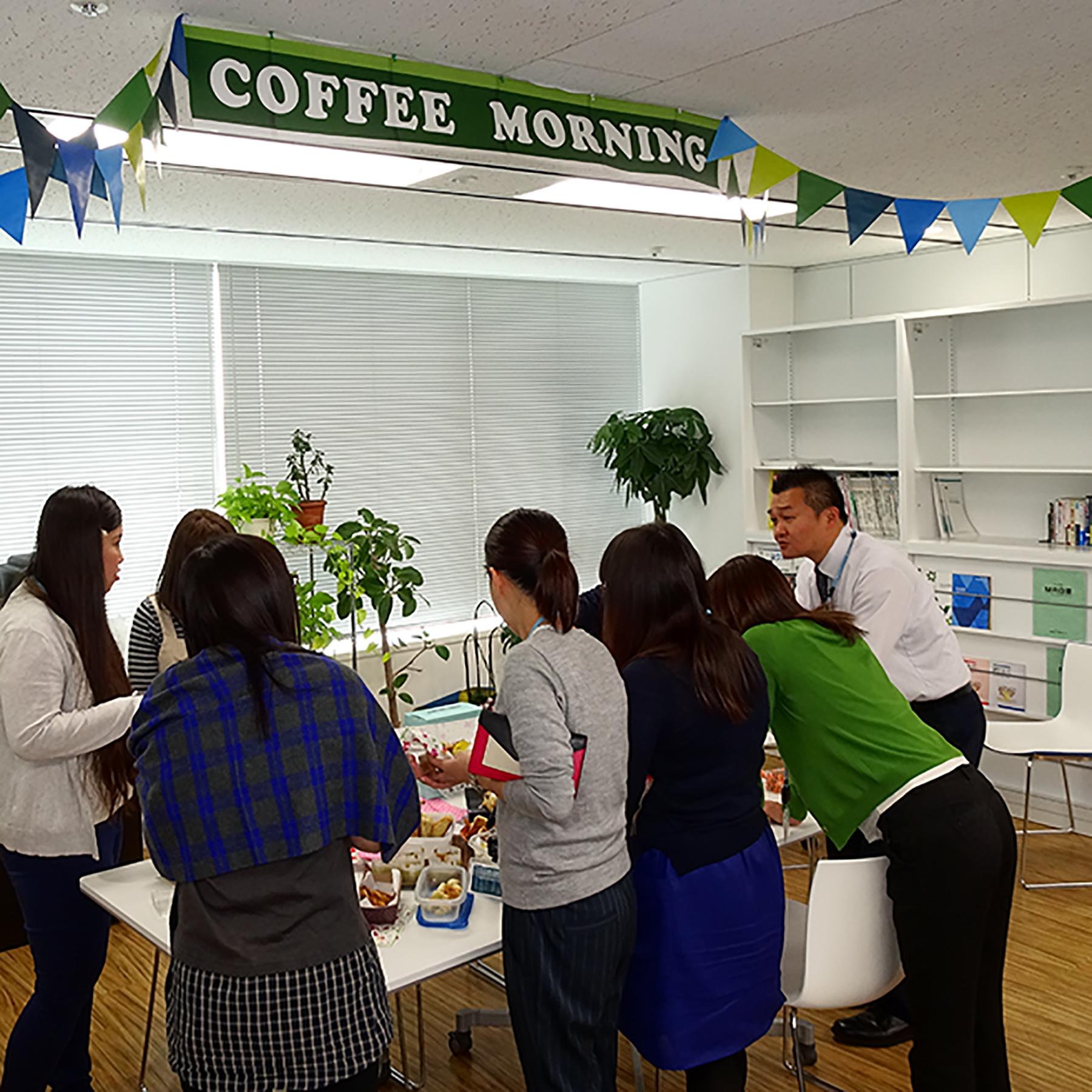 社内チャリティバザー「Coffee Afternoon」